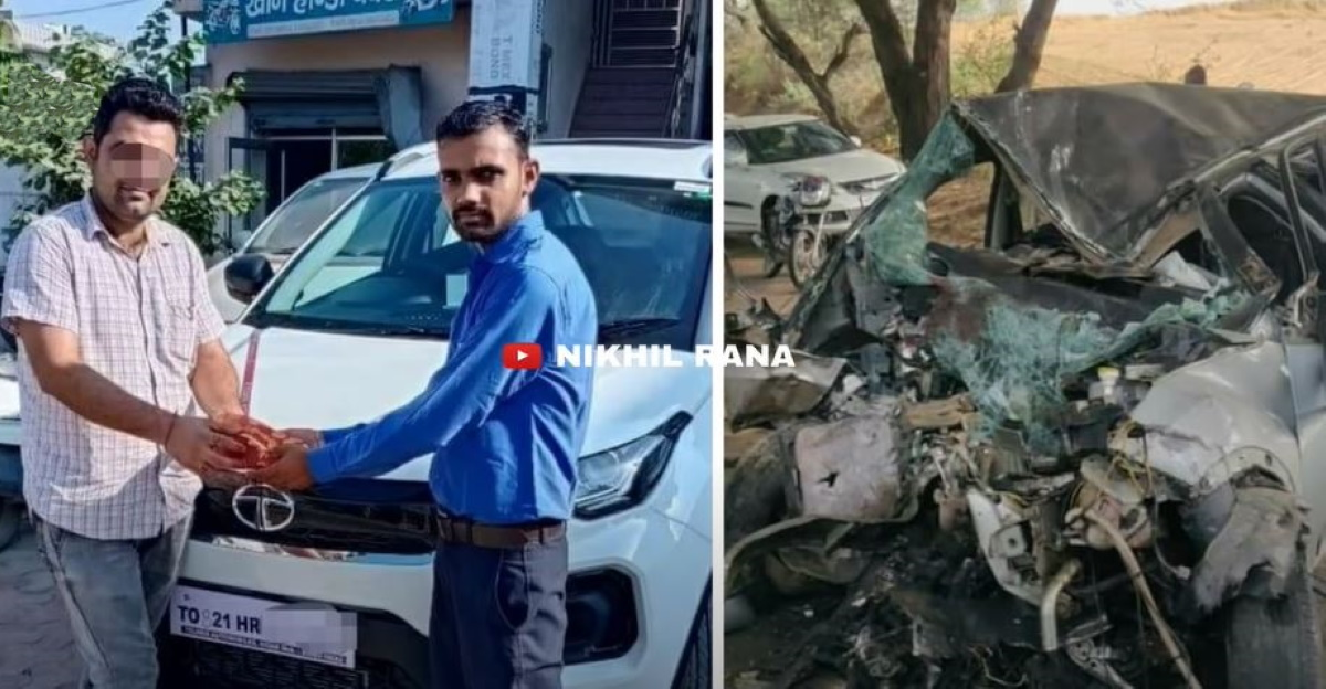 Owner buys a second Tata Nexon after the first one gets totaled in crash