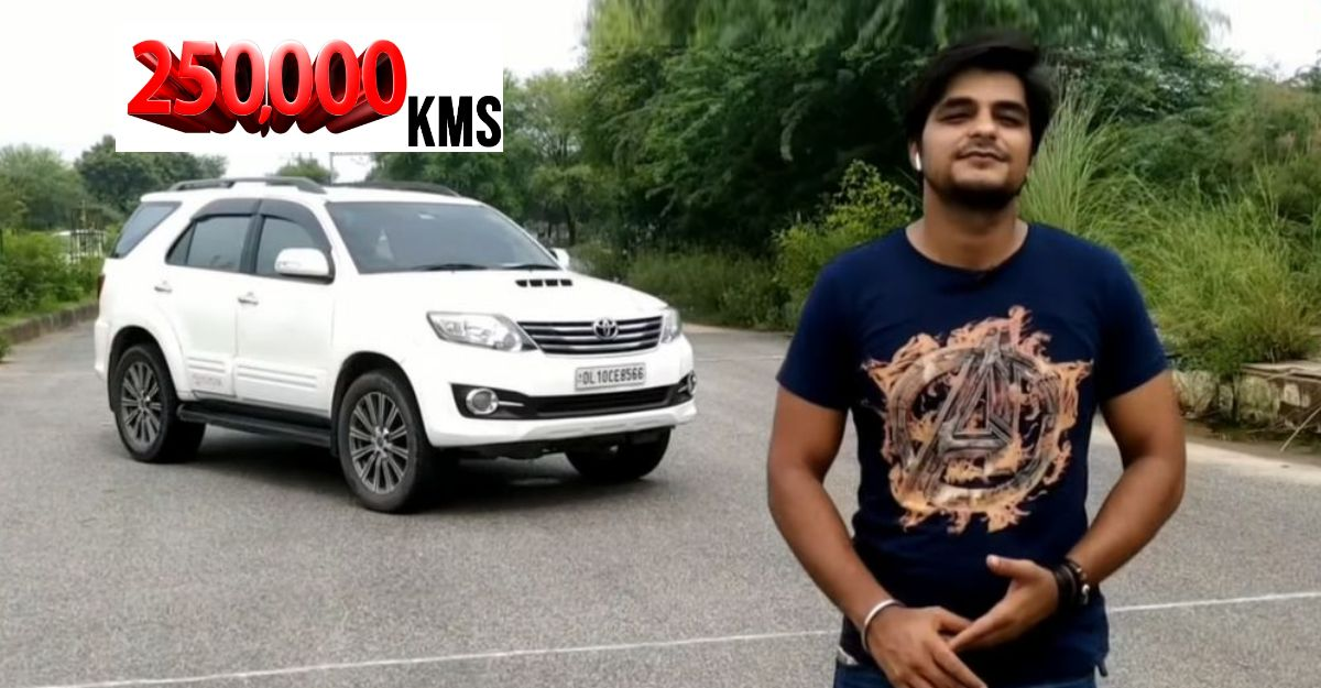 Toyota Fortuner: Owner describes what it drives like after 2.5 lakh Kms [Video]