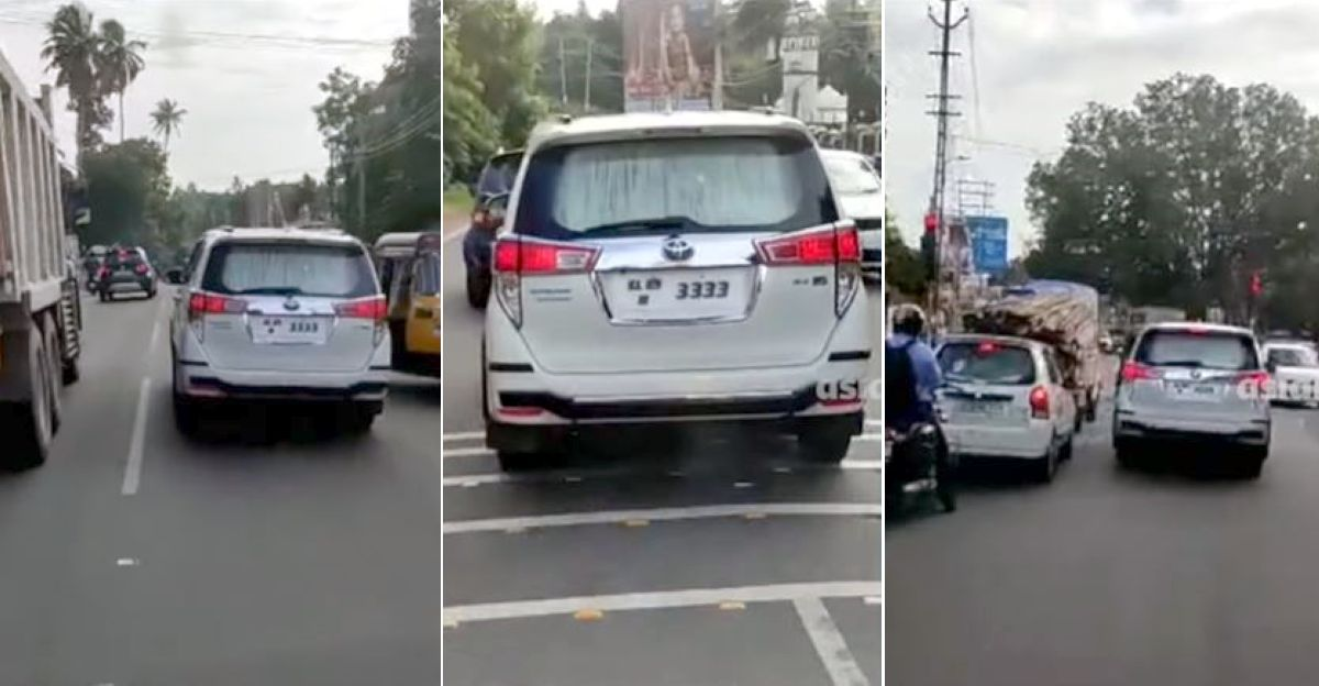 Blacklisted Toyota Innova Crysta blocks ambulance with heart patient for 5 Kms