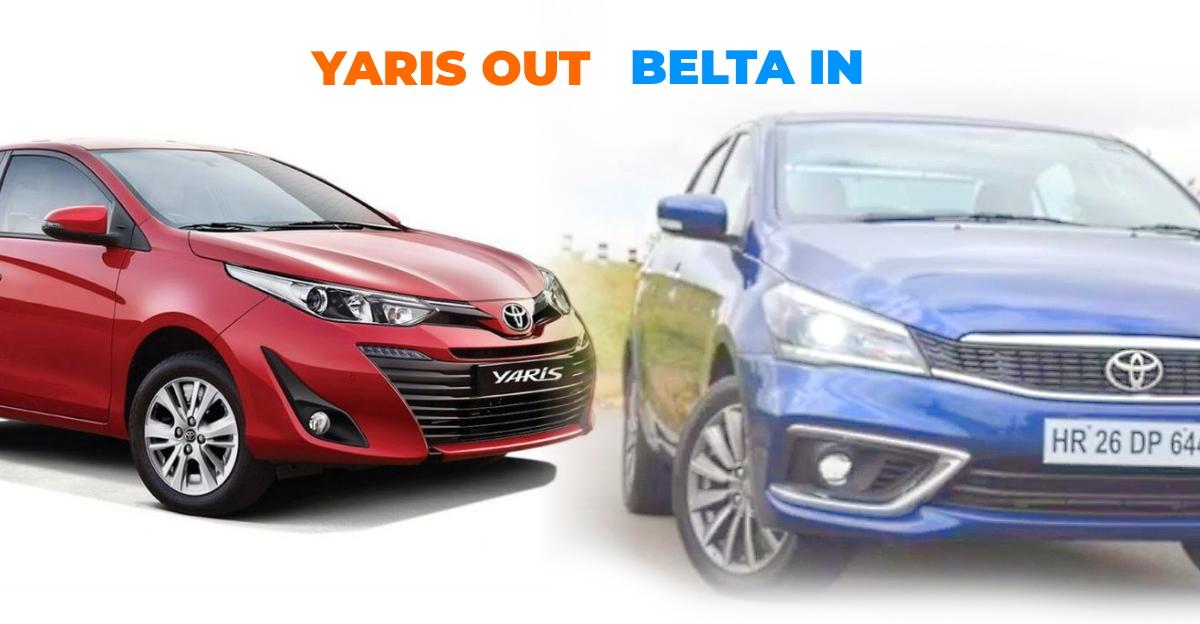 Yaris discontinued, Maruti Ciaz based Toyota Belta launching soon: Details