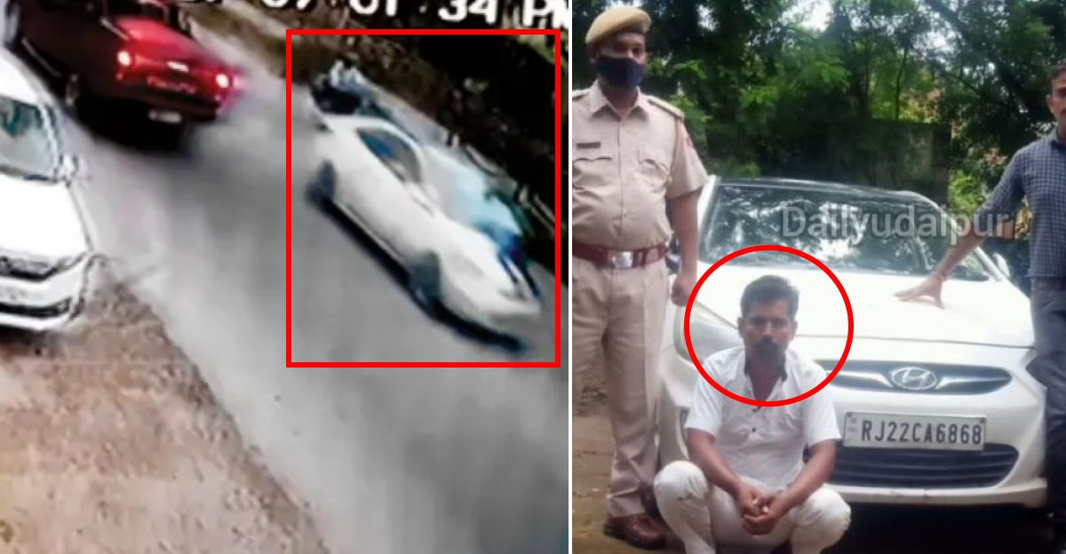 Car driver drives away with traffic constable on bonnet: Arrested