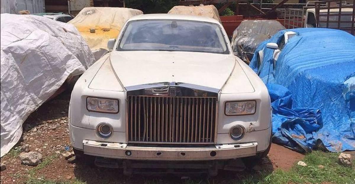 5 Rolls Royce sedans abandoned in India: Ghost, Phantom & more