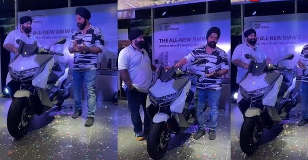 First delivery of India's most expensive scooter – the BMW C 400 GT