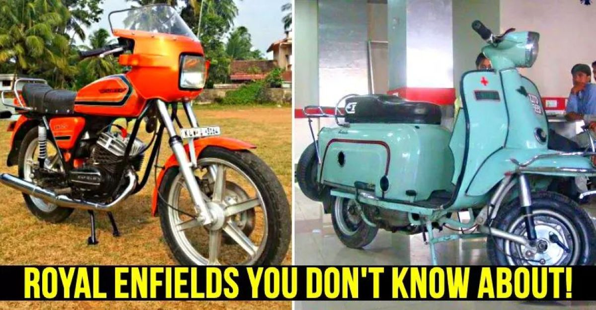 Forgotten Royal Enfields of India: Fantabulous scooter to Mofa moped