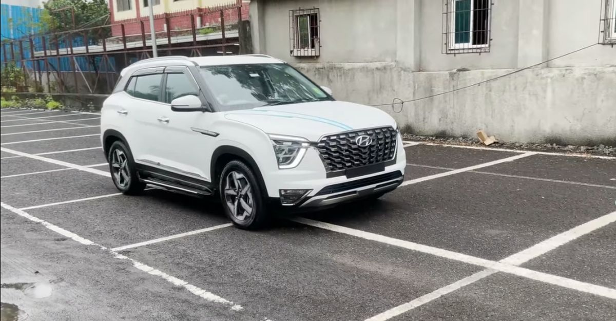 Hyundai Creta base E variants modified to look like Alcazar