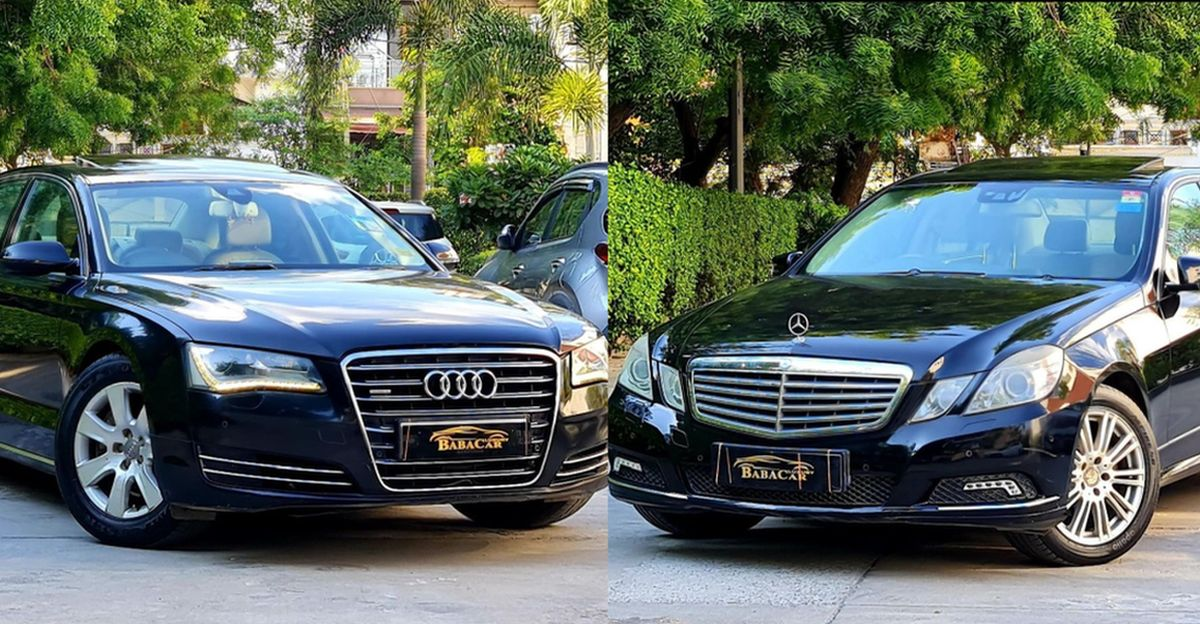 Used Audi, Mercedes-Benz luxury sedans & Range Rover SUVs for sale starting from just Rs. 8.95 lakh