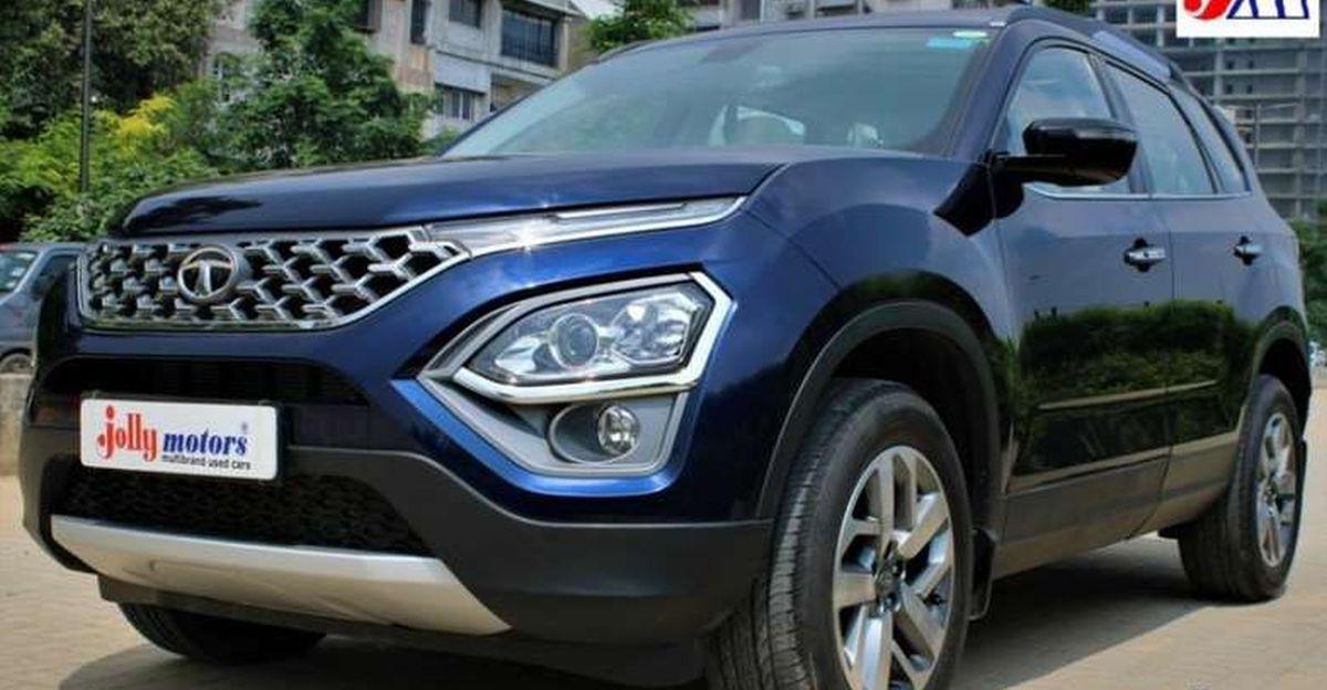 Almost-new 2021 Tata Safari SUVs for sale