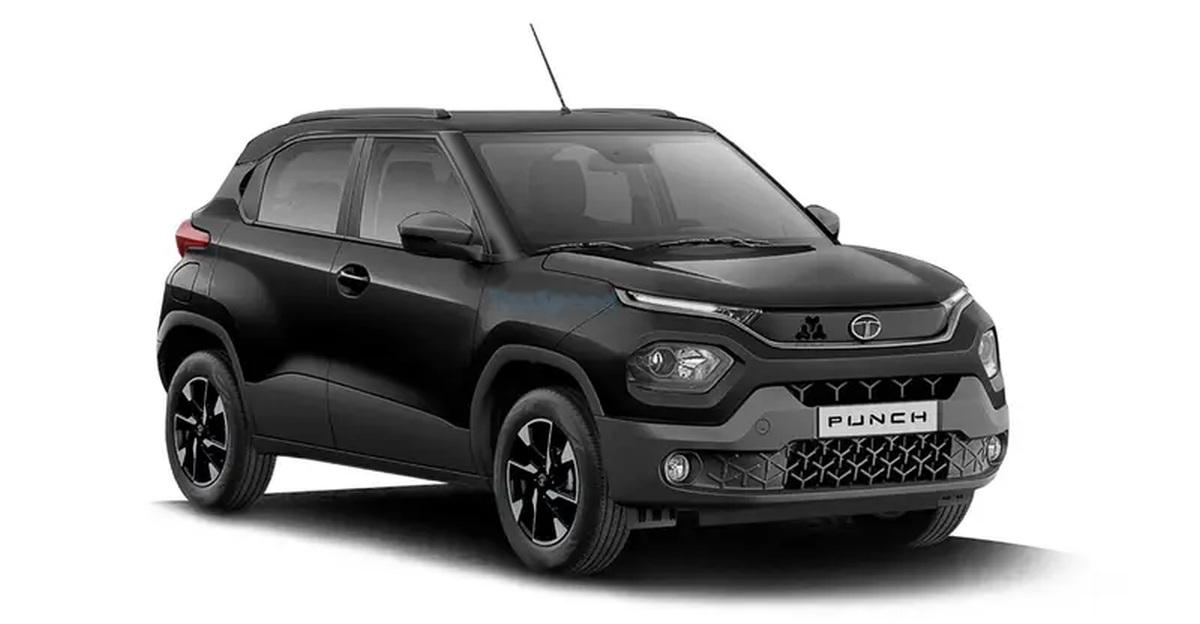 Tata Punch Dark Edition: What it'll look like