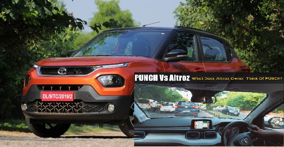 Tata Altroz owner talks about Punch after driving it