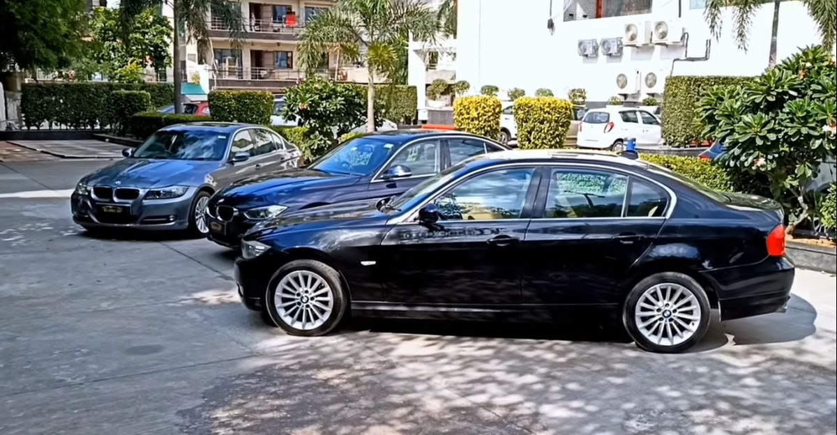 Well maintained BMW 3-series luxury sedans available for sale: Prices start from Rs. 6.25 lakh