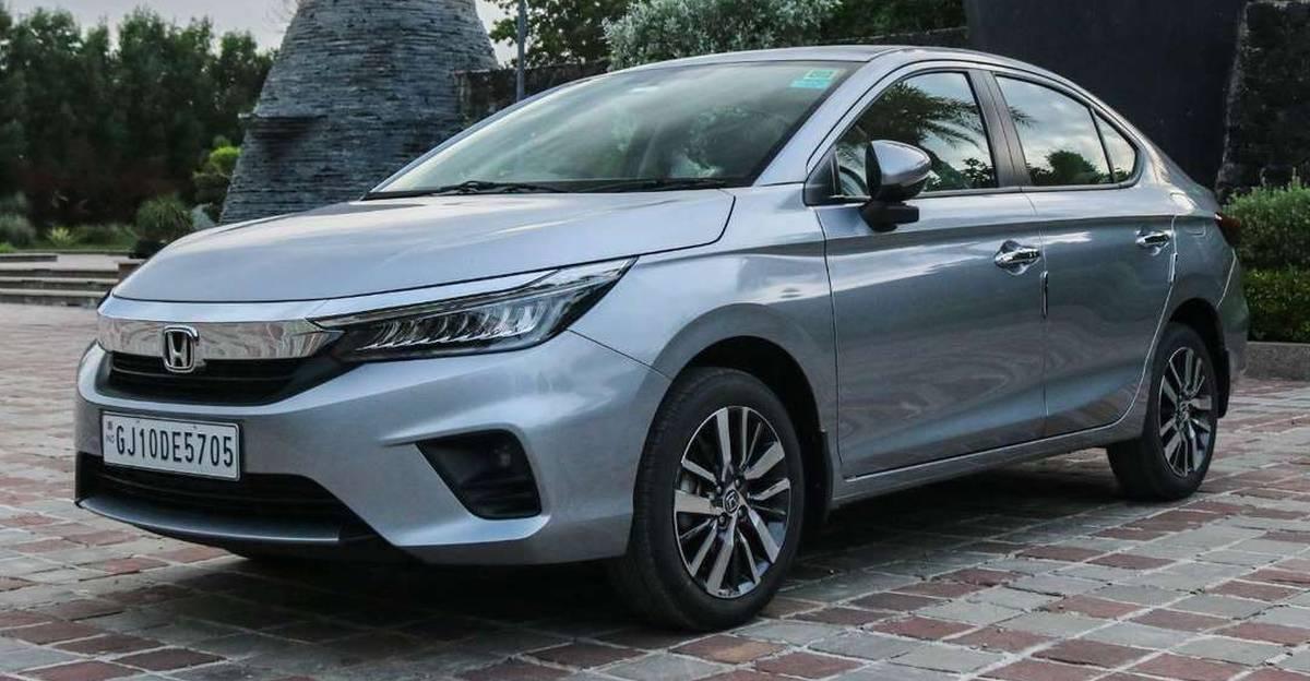 Almost-new 2021 Honda City sedans for sale