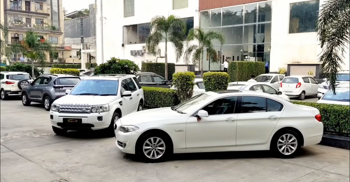 Well maintained Land Rover Freelander 2 SUV & BMW 5-series luxury sedan available for sale under Rs 10 lakh