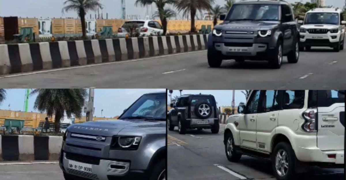Mukesh Ambani buys Land Rover Defender; Spotted for the first time