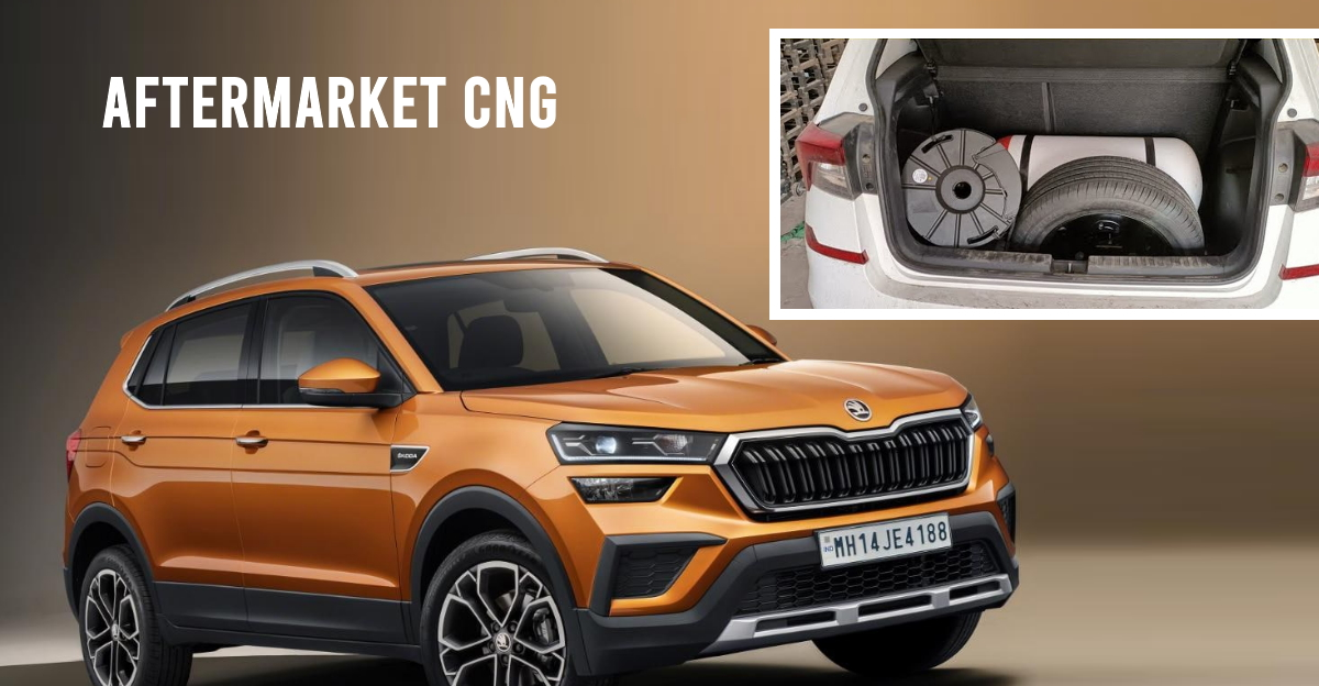 First Skoda Kushaq with after-market CNG on video