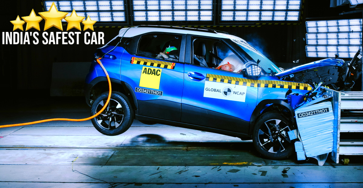 Tata Punch receives 5 star safety rating from Global NCAP: Safer than Altroz, Mahindra XUV300 & Nexon