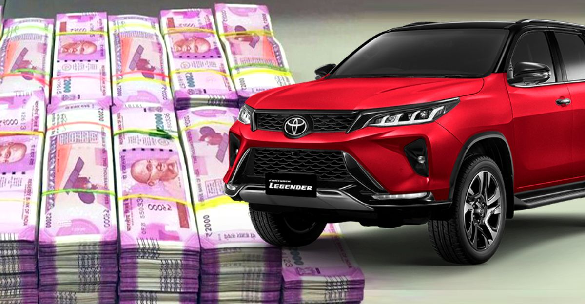 Toyota Fortuner Legender 4X4 costs more than Rs. 50 lakhs in Bangalore