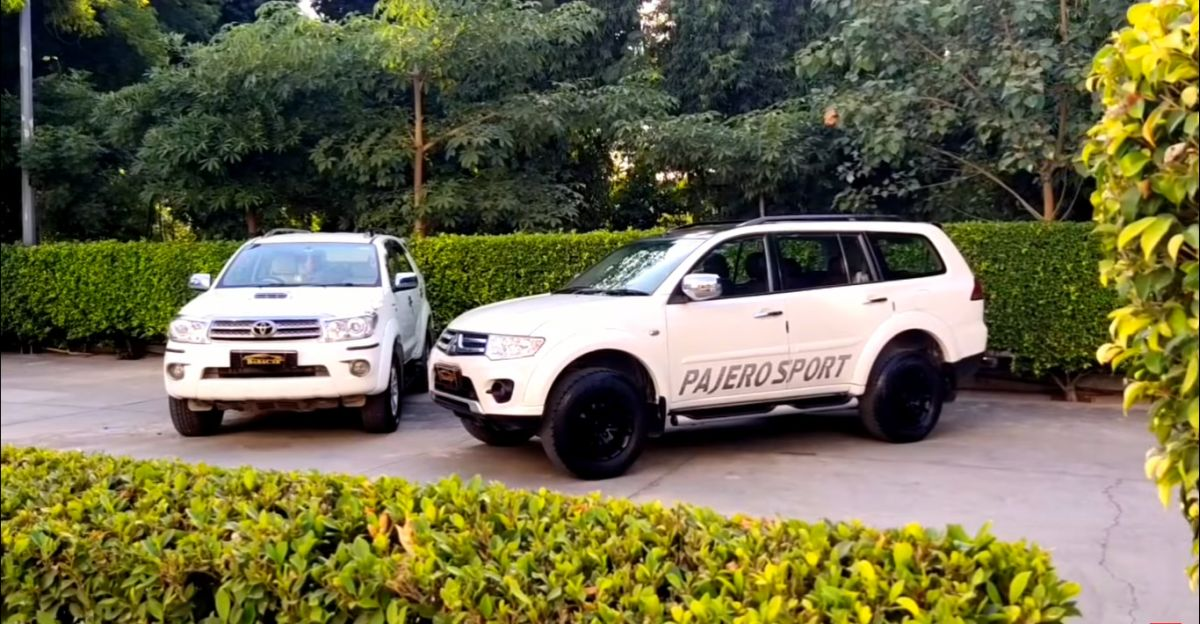 Well kept Toyota Fortuner, Mitsubishi Pajero Sport & Ford Endeavour starting from Rs. 7.95 lakh